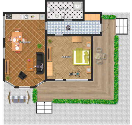 demo floor plan